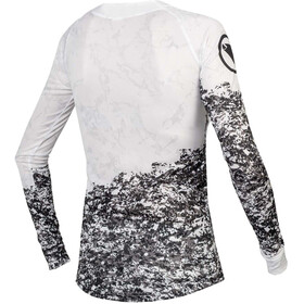 Endura MT500 Marble LTD LS Jersey Women, white